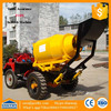 GT80 concrete mixer truck with pump / cement mixer 1 cubic meter