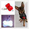 2016 Bone Shaped Colorful Bling ABS Plastic Pet ID Tag