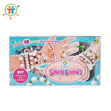 Hot selling puzzle bead toy kids handwork crafts with low price