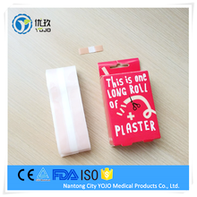 2016 New Products PE First Aid Adhesive Bandage Plaster Strips