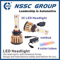 High lumen car led headlight kit H7 H4 12 months warranty 12V 24V auto car headlight bulb for chevrolet