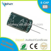 47uF 250v 16*25 10000H long life electrolytic capacitor