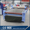 High speed automatic stainless steel conveyor 1600*1000mm laser belt cutting machine