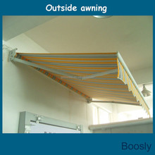 retractable electric outdoor awning