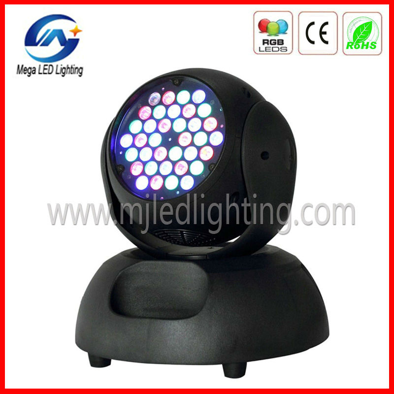 Mega 36pcs <strong>LED</strong> light dj lights moving head lighting move head