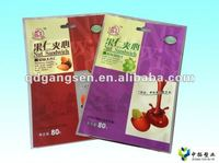pitted prune food packaging bag for grape