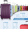 most fashional hard shell abs+pc frame trolley luggage with TSA lock