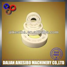 plastic bearing with ball and roller ground grind finish