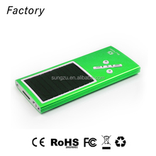 2017 hot sale Factory Directly Sale Sport Fashion Music Player solar powered mp3 player
