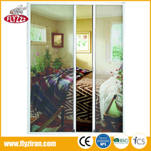 Low price customized insect net security mesh retractable fly screen door