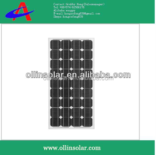 electrical panels, 90W mono solar panel