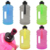 high quality gym fitness 2.2l gym shaker water bottle with handle in Europe
