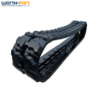 3 ton mini china factory crawler chassis track undercarriage ,rubber track shoe assembly with pads