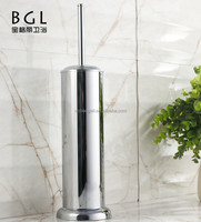 Bathroom sanitary items Stainless steel stand toilet brush holder