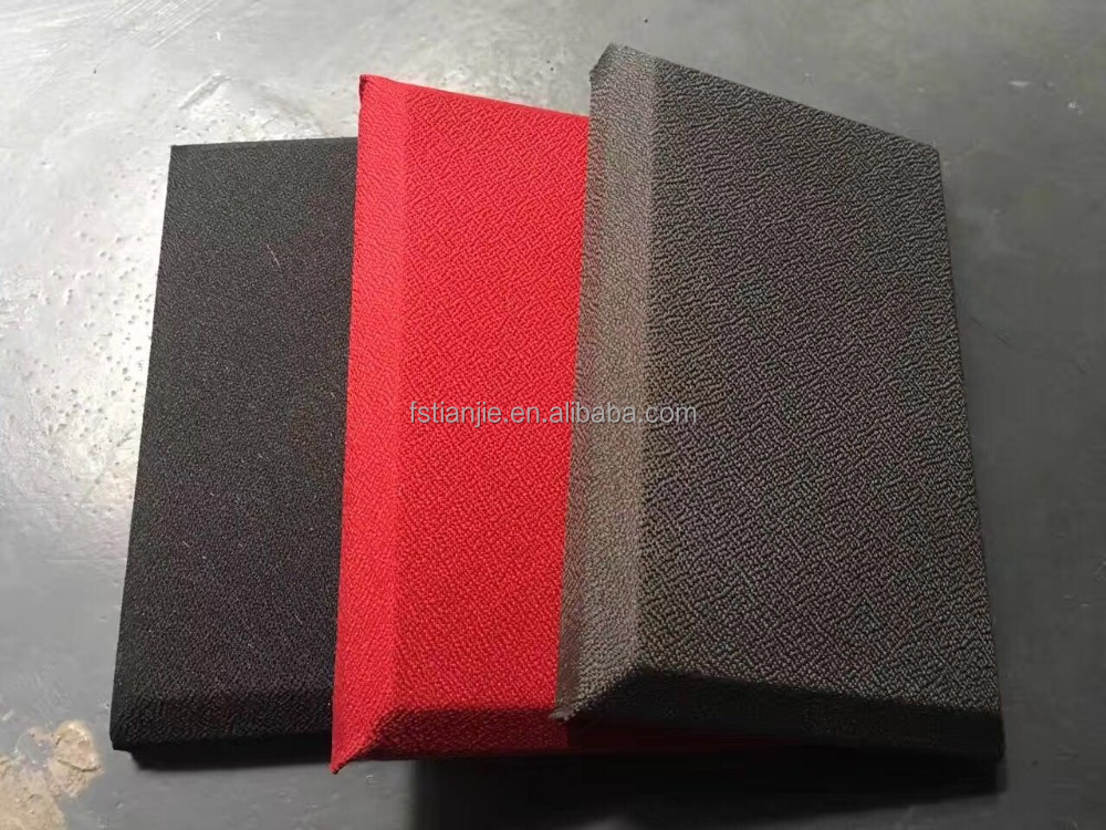 Fabric acosutic theater wall panel Fire -rated Fabric sound absorbing panel for theater