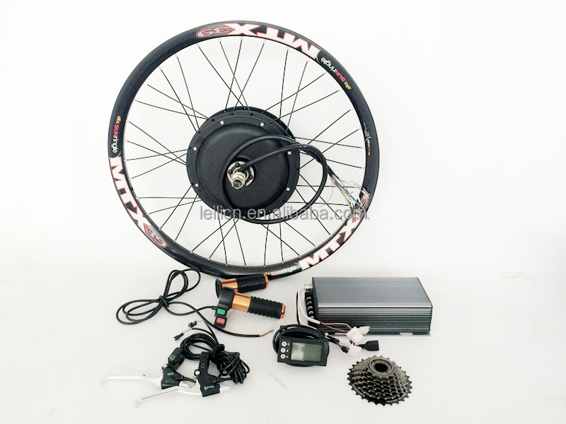 80kph 5kw electric motor kit for bicycle 140N.M 48V - 72V