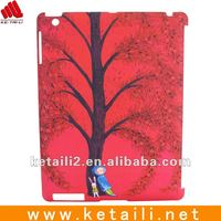 for hard pc ipad 2 case,good quality,factory price cartoon cover (FDA,BV passed)