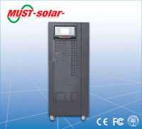 <MUST Solar>Industrial three phase ups 15kva 12kw online ups power supply