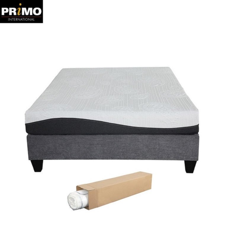5 Pcs Sale 1633 1632 Pass 8' Vacuum Compressed Fireproof China euro spring full size in a box best mattress - Jozy Mattress | Jozy.net