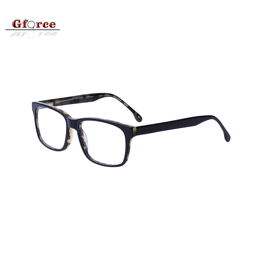 2018 new year glasses women acetate spectacle spring hinge optical eye frame glasses eyewear eyeglasses frames