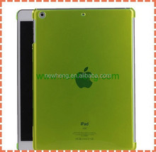Wholesale crystal transparent PC hard Cover cases For ipad air