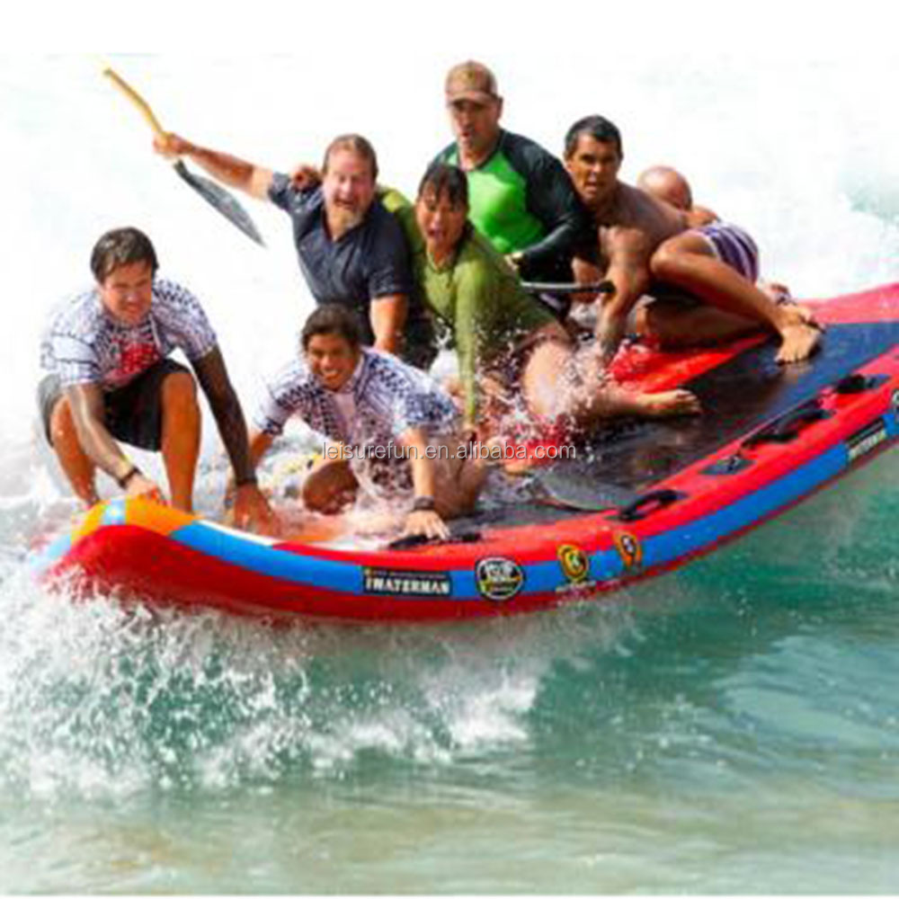 17 feet inflatable sup board for 10 person