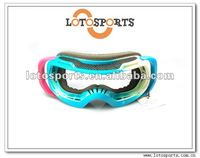 2012 popular style blue true colors goggles ski sunglasses