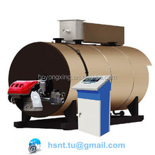 4.2MW/hr-1.0MPa horizontal fully automatic oil fired gas fired hot water boiler with Germany made modulating burner