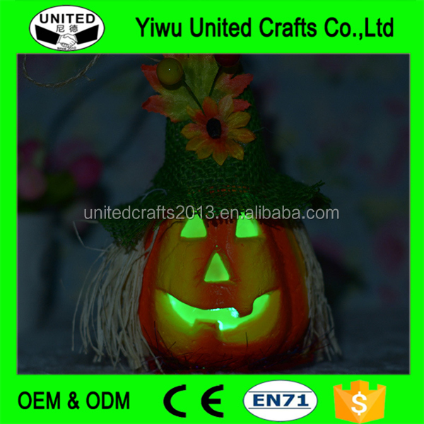 Hot-sale halloween decoration decorative inflatable glitter pumpkin