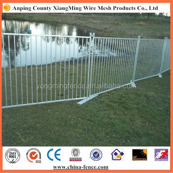 Child safety swimming pool fence