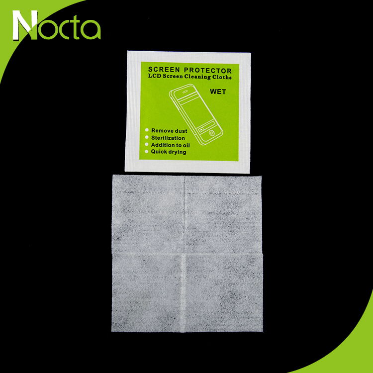 Hot sale high quality clean laptop screen wet wipe alcohol prep pads