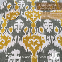Huade Hand Tufted VISCOSE Carpet Tapestry Rug