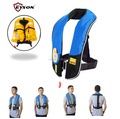 Fishing inflatable life jacket
