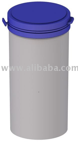 Plastic jar bottle container with safety