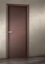 Veneered Bedroom Flush Type Latest Wooden Doors Design