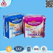 ISO9001 Cheap Factory Super Dry Stocklots Disposable Nice Baby Diaper