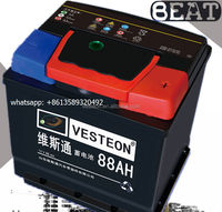 Lead Acid Starter Mf Car Battery/Auto Battery 12V 88ah (DIN88)