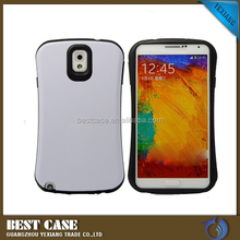 Mobile phone accessories combo cover For Samsung Galaxy Note 3 PC + TPU Case