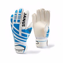 Bright color Latex sport glove Soccer Goalie Gloves with Finger Protection Support Football Goalkeeper gloves