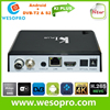 Android smart tv box with DVB-T2 and DVB-S2 together Hybrid tv box