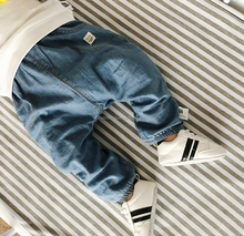 Drop shipping new style baby denim pants joker casual jeans