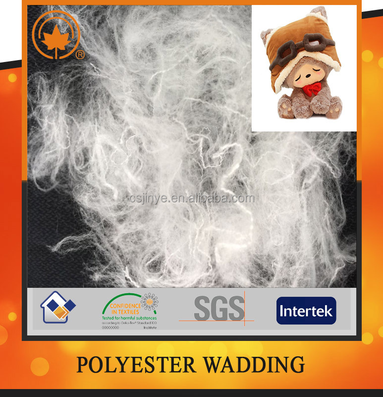 Polyster synthetic fiber in china factory