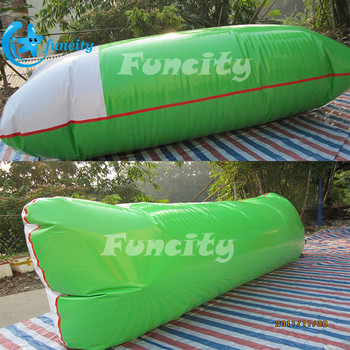 Durable PVC Tarpaulin Jumping Inflatable Water Catapult Blob Water Park Toys