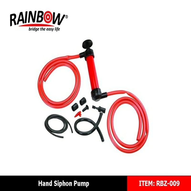 RBZ-009 manual siphon hand plastic <strong>diesel</strong> fuel hand primer pump