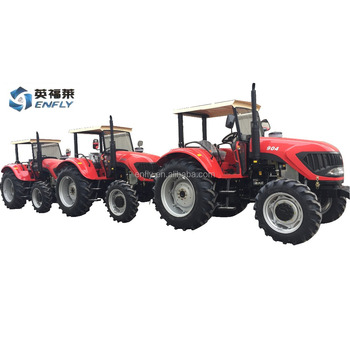 Chinese farm tractor 90hp 4WD with front loader