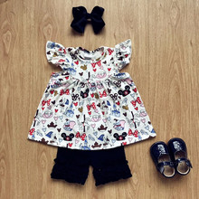 wholesale children clothing usa 2018 yiwu little girls boutique clothing sets children clothing manufacturers china
