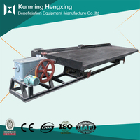 High pressure big capacity copper shaking table for gold recovery