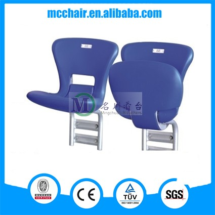Taurus wholesale sports gym chair outdoor seat sports stadium seating foldable spectator plastic chairs