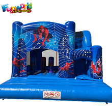 China wholesale castillos hinchables spiderman jumping castles for sale inflatable castle