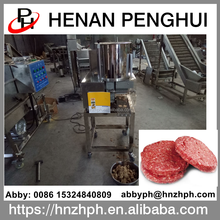 Stainless steel jamaican burger potato patty making machine